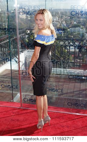 Malin Akerman at the People's Choice Awards Press Conference held at the London Hotel in West Hollywood, USA on November 9, 2010.