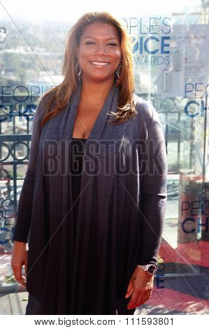Queen Latifah at the People's Choice Awards Press Conference held at the London Hotel in West Hollywood, USA on November 9, 2010.