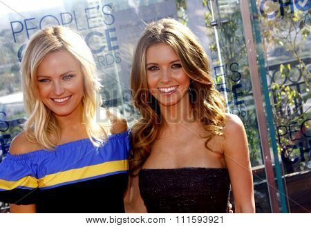 Malin Akerman and Audrina Patridge at the People's Choice Awards Press Conference held at the London Hotel in West Hollywood, USA on November 9, 2010.