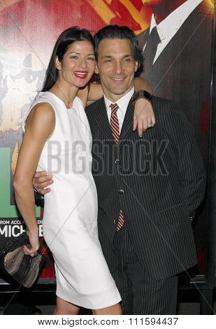 Jill Hennessy at the Los Angeles premiere of HBO's