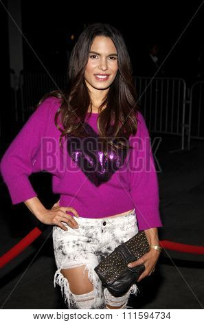 Nadine Velazquez at the Los Angeles premiere of FX's 'It's Always Sunny In Philadelphia' held at the ArcLight Cinemas in Hollywood, USA on September 13, 2011.