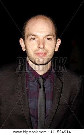 Paul Scheer at the Los Angeles premiere of FX's 'It's Always Sunny In Philadelphia' held at the ArcLight Cinemas in Hollywood, USA on September 13, 2011.