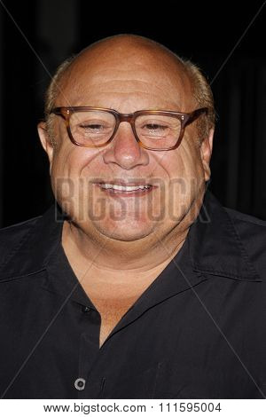 Danny DeVito at the Los Angeles premiere of FX's 'It's Always Sunny In Philadelphia' held at the ArcLight Cinemas in Hollywood, USA on September 13, 2011.