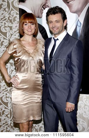HOLLYWOOD, CALIFORNIA - May 18, 2010. Lorraine Stewart and Michael Sheen at the Los Angeles premiere of 'The Special Relationship' held at the Director's Guild of America in Hollywood.