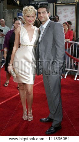Arielle Kebbel and Jesse Metcalfe at the Los Angeles premiere of 'John Tucker Must Die' held at the Grauman's Chinese Theater in Hollywood, USA on July 25, 2006.