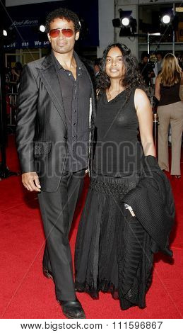 WESTWOOD, CALIFORNIA. July 20, 2006. Mario Van Peebles at the World premiere of 'Miami Vice' held at the Mann's Village Theater in Westwood, California United States.