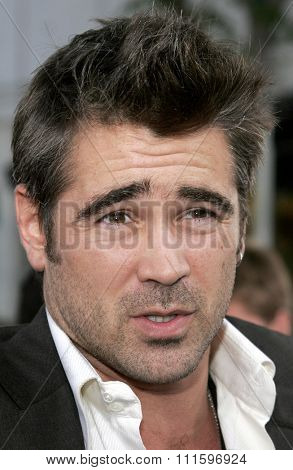 WESTWOOD, CALIFORNIA. July 20, 2006. Colin Farrell at the World premiere of 'Miami Vice' held at the Mann's Village Theater in Westwood, California United States.