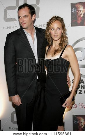 HOLLYWOOD, CALIFORNIA.December 4, 2006. Kim Raver attends the '24' Season Five DVD Release held at the Les Deux in Hollywood, California United States.