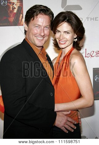 HOLLYWOOD, CALIFORNIA. December 4, 2006. John Allen Nelson and Justine Eyre attend the '24' Season Five DVD Release held at the Les Deux in Hollywood, California United States.