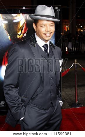Terrence Howard attends the Los Angeles Premiere of