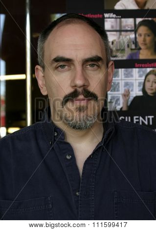 Federico Hidalgo at the photo shoot for 'A Silent Love' at LALIFF 2004 held at the Egyptian Theater in Hollywood.