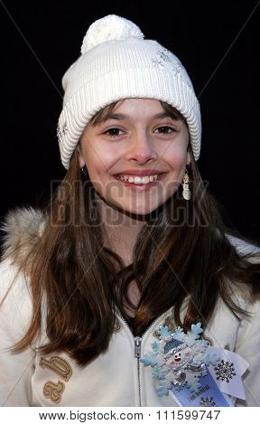 11/27/2005 - Hollywood - Vivien Cardone attends the 2005 Hollywood Christmas Parade at the Hollywood Roosevelt Hotel in Hollywood, California, United States.