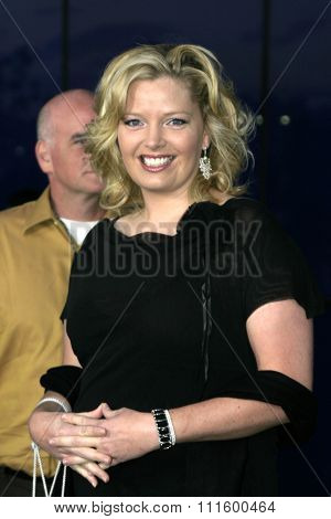 Melissa Peterman at The WB Network's 2004 All Star Party- Red Carpet & Party at The Lounge At Astra West in Los Angeles, USA on July 14, 2004.