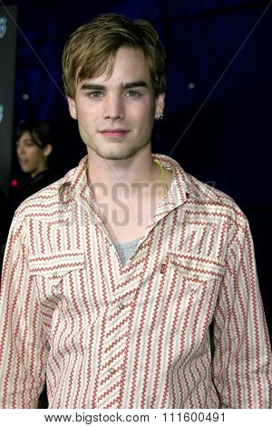 David Gallagher at The WB Network's 2004 All Star Party- Red Carpet & Party at The Lounge At Astra West in Los Angeles, USA on July 14, 2004.