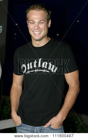 George Stults at The WB Network's 2004 All Star Party- Red Carpet & Party at The Lounge At Astra West in Los Angeles, USA on July 14, 2004.