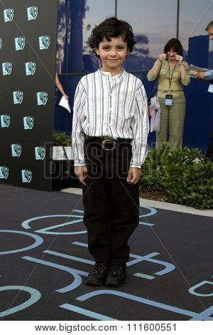 Max Burkholder at The WB Network's 2004 All Star Party- Red Carpet & Party at The Lounge At Astra West in Los Angeles, USA on July 14, 2004.