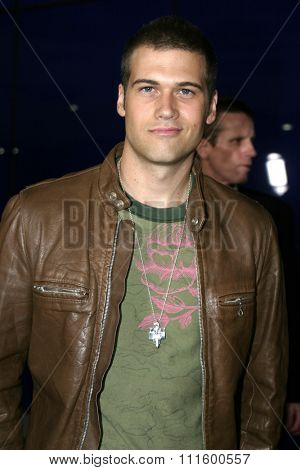 Nick Zano at The WB Network's 2004 All Star Party- Red Carpet & Party at The Lounge At Astra West in Los Angeles, USA on July 14, 2004.
