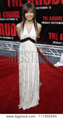 BUENA PARK, CALIFORNIA. October 8, 2006. Misako Uno attends the World Premiere of