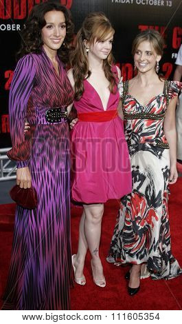 BUENA PARK, CALIFORNIA. October 8, 2006. Jennifer Beals, Sarah Michelle Gellar and Amber Tamblyn at the World Premiere of