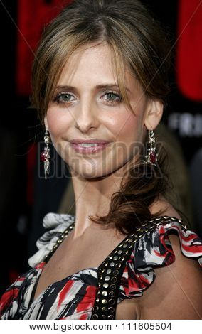 BUENA PARK, CALIFORNIA. October 8, 2006. Sarah Michelle Gellar attends the World Premiere of