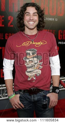 10/08/2006 - Buena Park - Ace Young attends the World Premiere of