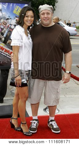 HOLLYWOOD, CALIFORNIA. July 30, 2006. Kevin James attends the World Premiere of