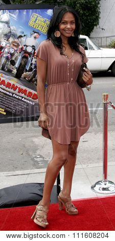 HOLLYWOOD, CALIFORNIA. July 30, 2006. Samantha Mumba attends the World Premiere of