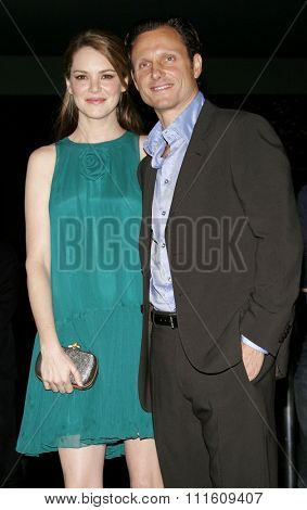 HOLLYWOOD, CALIFORNIA. September 13, 2006. Jacinda Barrett and Tony Goldwyn at the Los Angeles Premiere of