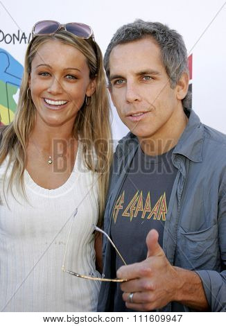 Ben Stiller and Christine Taylor at the Camp Ronald McDonald 14th Annual Halloween Carnival held at the Universal Studios Back Lot in Hollywood, CA on 10/22/06.