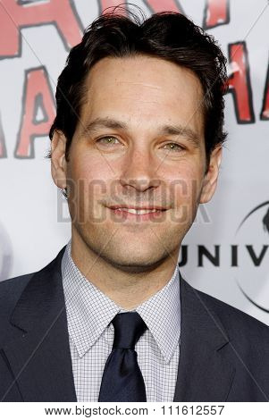 Paul Rudd attends the World Premiere of