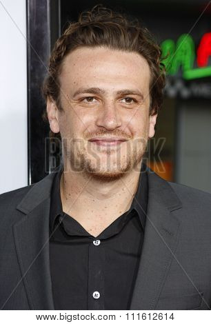 April 10, 2008. Jason Segel attends the World Premiere of