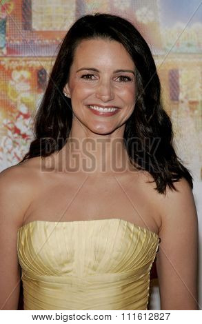 HOLLYWOOD, CALIFORNIA. November 12, 2006. Kristin Davis attends the World Premiere of