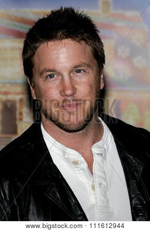 HOLLYWOOD, CALIFORNIA. November 12, 2006. Lochlyn Munro attends the World Premiere of