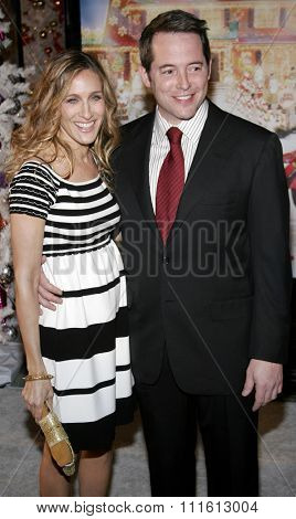 HOLLYWOOD, CALIFORNIA. November 12, 2006. Sarah Jessica Parker and Matthew Broderick at the World Premiere of