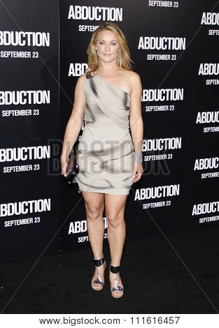 Elisabeth Rohm at the Los Angeles premiere of 'Abduction' held at the Grauman's Chinese Theatre in Hollywood, USA on September 15, 2011.