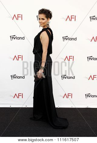 Deborah Secco at the AFI Life Achievement Award Honoring Shirley MacLaine held at the Sony Studios in Los Angeles, USA on June 7, 2012.