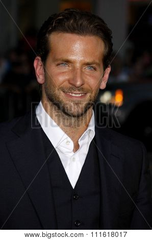 Bradley Cooper at the World premiere of 'All About Steve' held at the Grauman's Chinese Theater in Hollywood, USA on August 26, 2009.