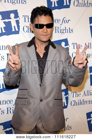 Corey Feldman at the Alliance for Children's Rights Dinner Honoring Kevin Reilly held at the Beverly Hilton Hotel in Beverly Hills, USA on March 1, 2012.