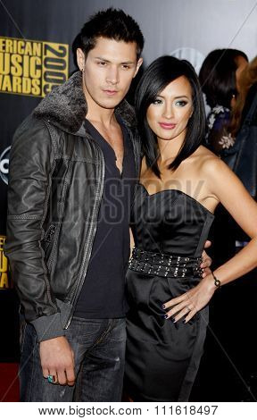 Alex Meraz at the 2009 American Music Awards at Nokia Theatre L.A. Live in Los Angeles, USA on November 22, 2009.
