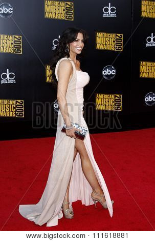 Sofia Vergara at the 2009 American Music Awards at Nokia Theatre L.A. Live in Los Angeles, USA on November 22, 2009.