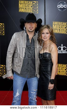 Jason Aldean at the 2009 American Music Awards at Nokia Theatre L.A. Live in Los Angeles, USA on November 22, 2009.