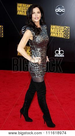 Lauren Sanchez at the 2009 American Music Awards at Nokia Theatre L.A. Live in Los Angeles, USA on November 22, 2009.