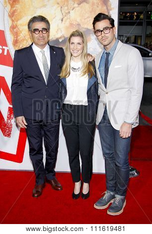 Eugene Levy at the Los Angeles premiere of 'American Reunion' held at the Grauman's Chinese Theatre in Hollywood, USA on March 19, 2012.