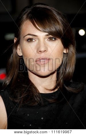 Clea DuVall at the Los Angeles premiere of 'Argo' held at the AMPAS Samuel Goldwyn Theater in Beverly Hills, USA on October 4, 2012.