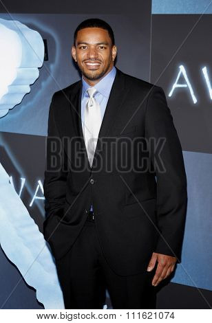 Laz Alonso at the Los Angeles premiere of 'Avatar' held at the Grauman's Chinese Theatre in Hollywood, USA on December 16, 2009.