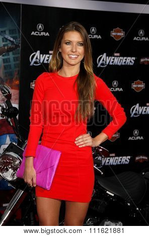 Audrina Patridge at the Los Angeles premiere of