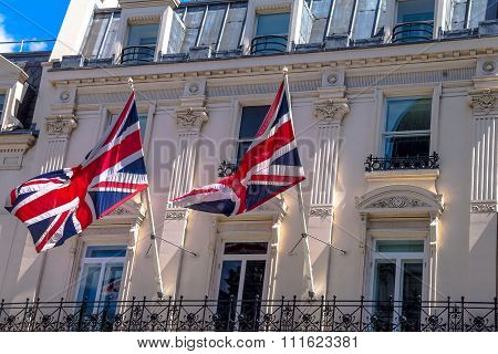 British Flags In London