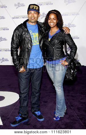 February 8, 2011. Mario Van Peebles at the Los Angeles premiere of