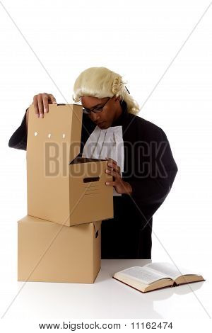 Young American Judge Man, Storage Boxes