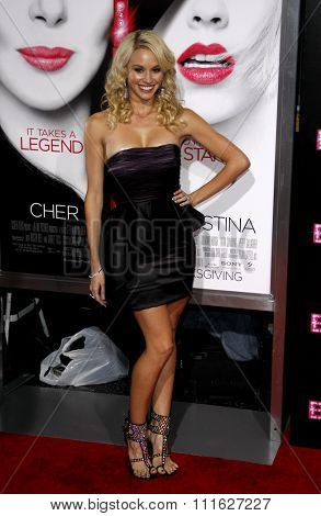 HOLLYWOOD, CALIFORNIA - November 15, 2010. Tyne Stecklein at the Los Angeles premiere of